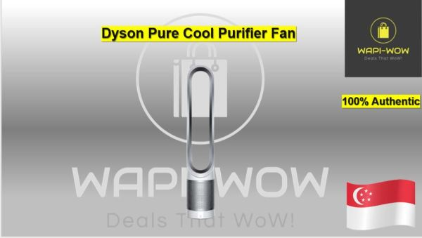 Dyson Pure Cool Air Purifier Tower Fan TP00 (White/Silver) Singapore