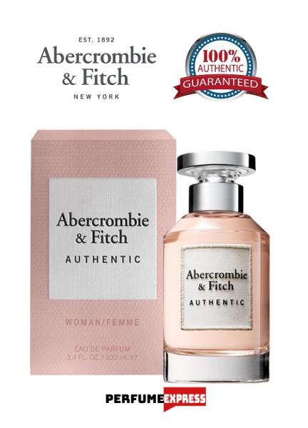 Buy Abercrombie & Fitch (A&F) Authentic Femme Eau De Perfum Spray for Women 3.4 FL. OZ. 100ml [100% Authentic Brand New Perfume] Singapore