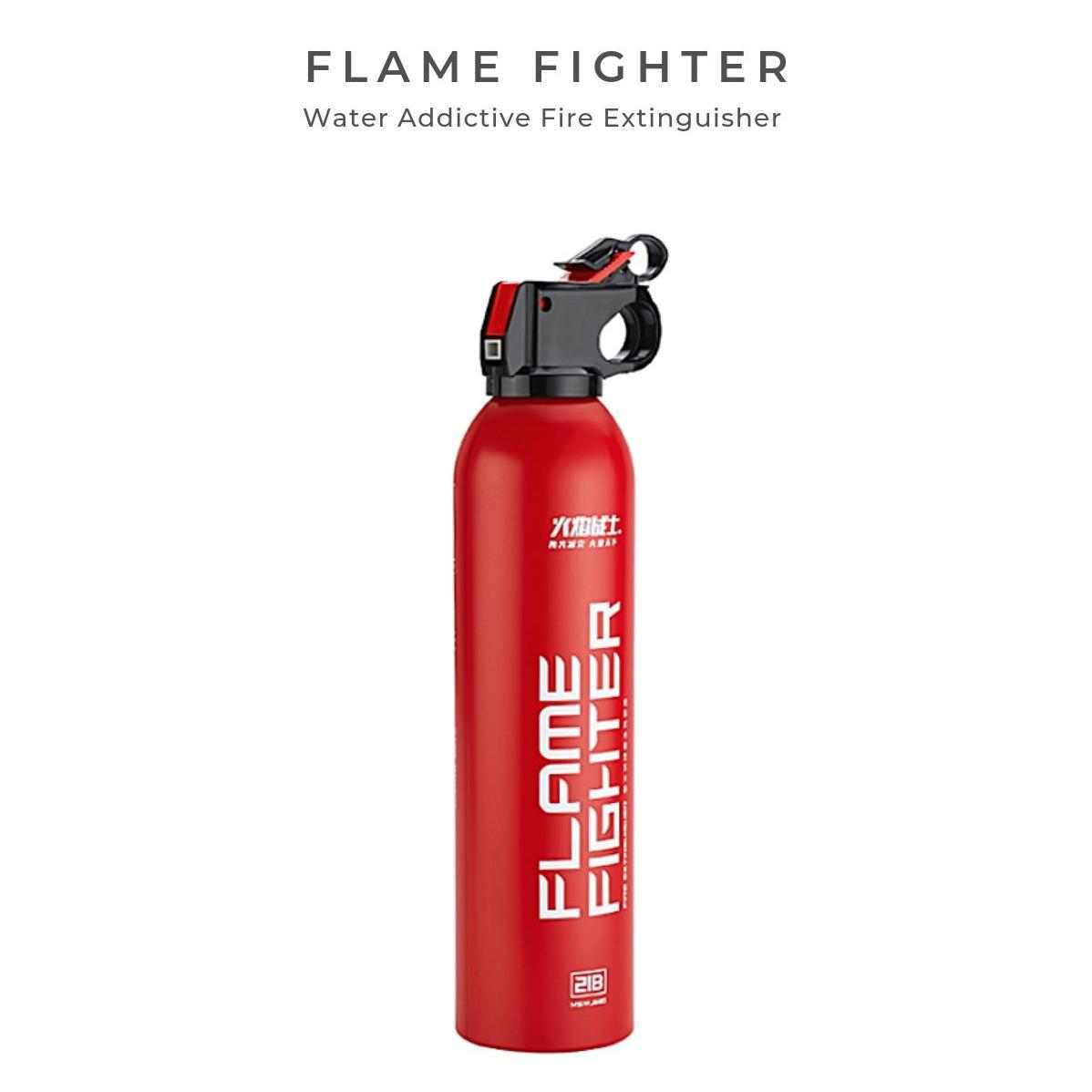 Flame Fighter Water Additive Fire Extinguisher