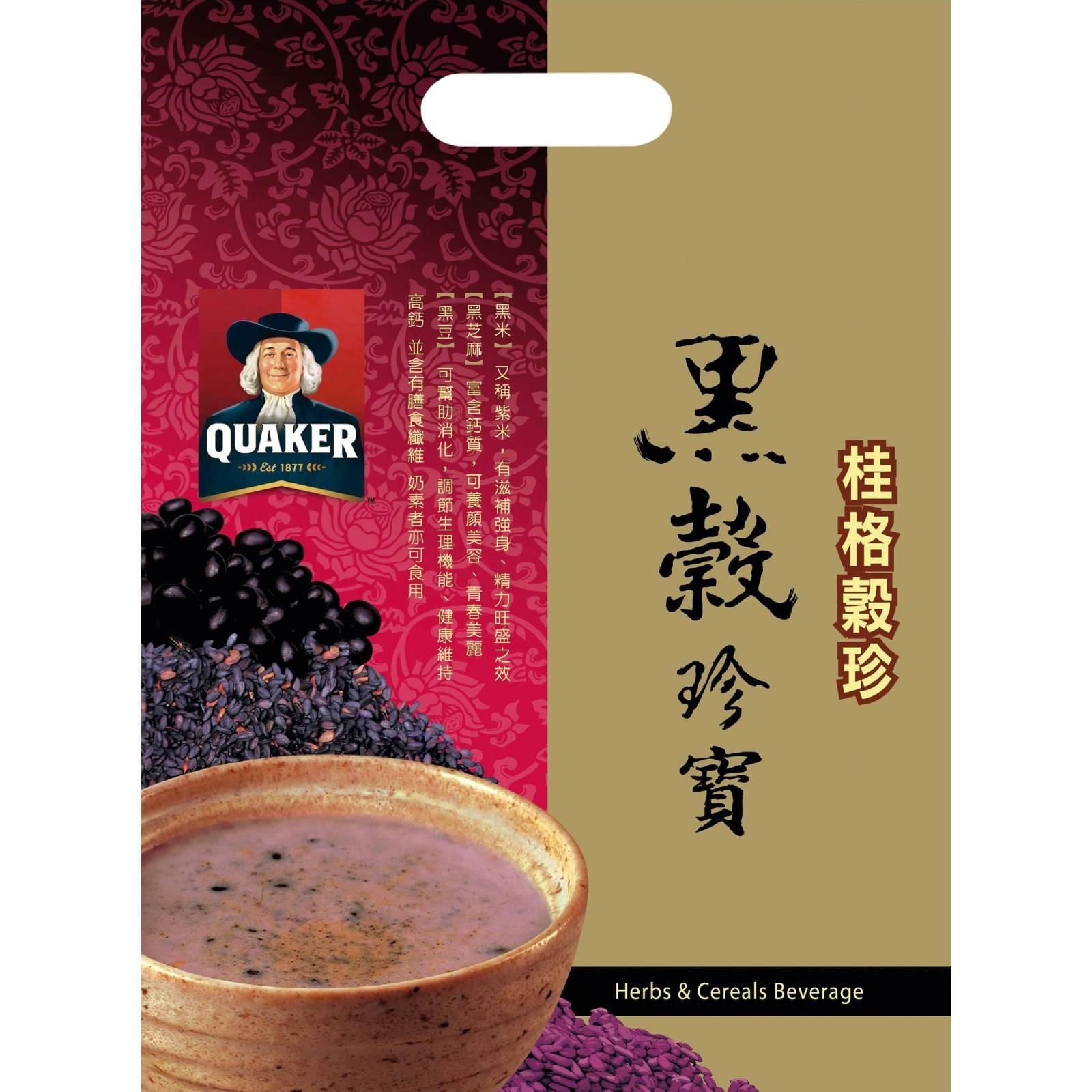 QUAKER Black Soy Bean Dark Sesame and Black Rice Cereal Beverage