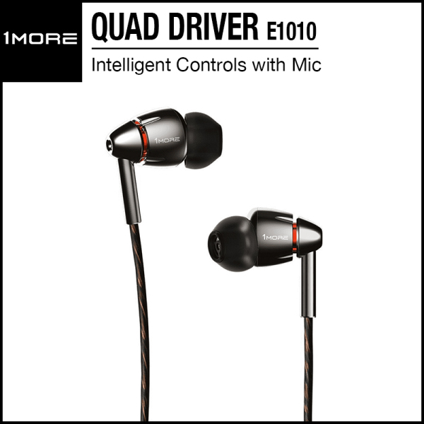 1More Quad Driver In-Ear Headphones E1010 Singapore