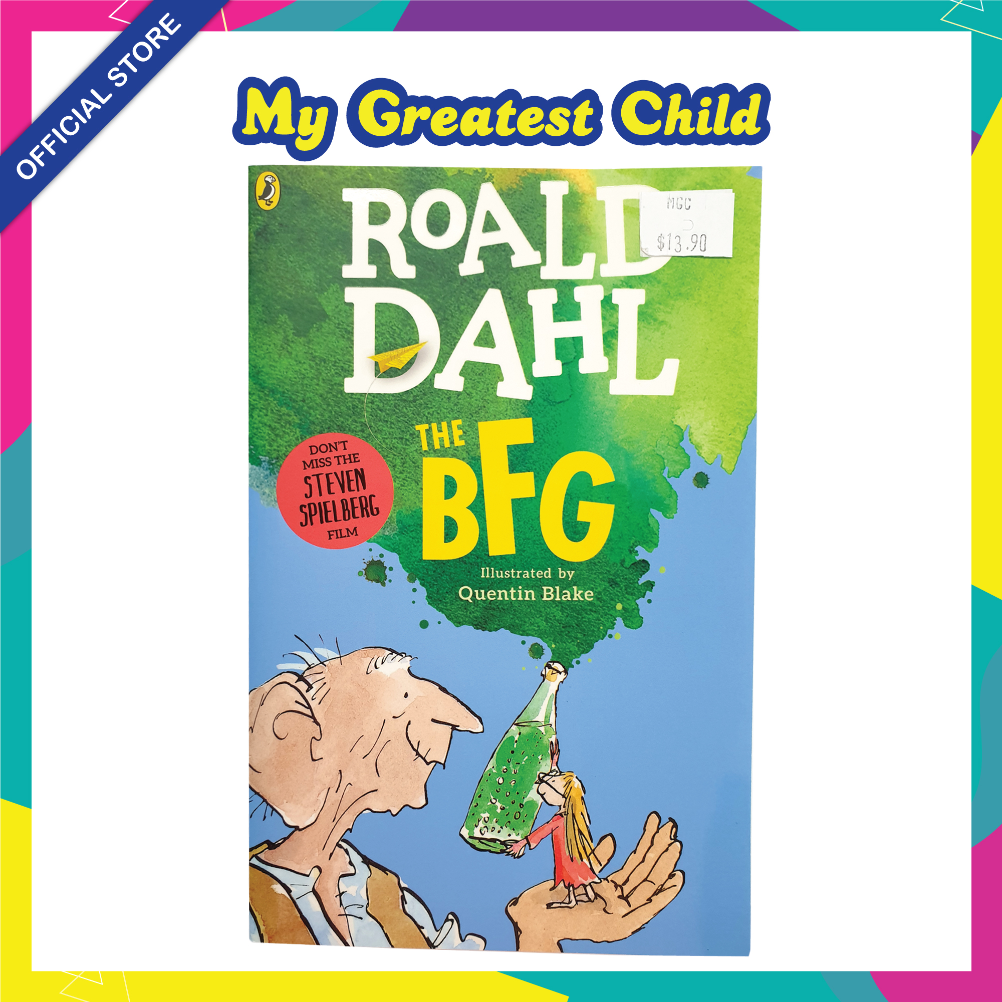 The BFG - Roald Dahl English Paperback Childrens Book (For Ages 7+)