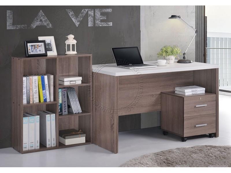 (FurnitureSG) 4 IN 1 STUDY TABLE+BOOKSHELF+DRAWER / COMPUTER DESK/OFFICE TABLE