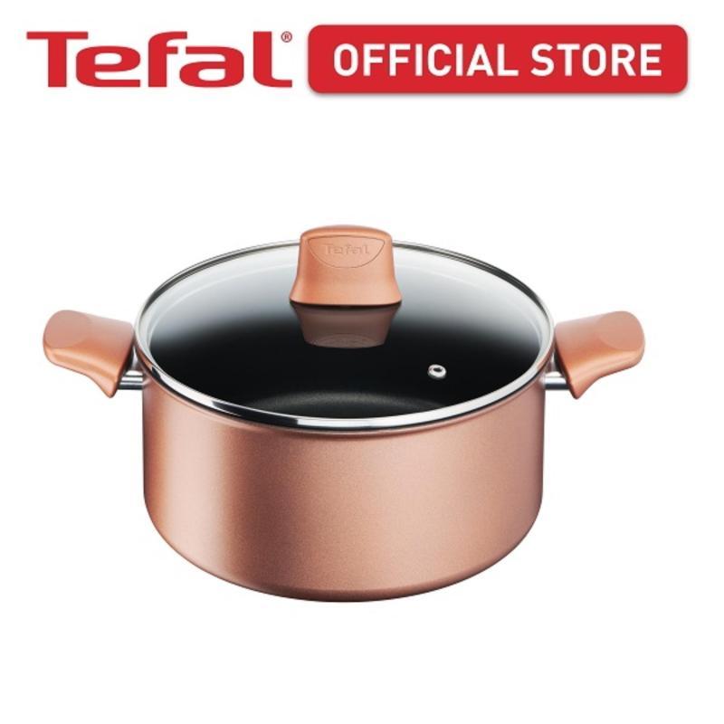 Tefal Chef's Delight Copper Stewpot 24cm w/lid G11746 Singapore