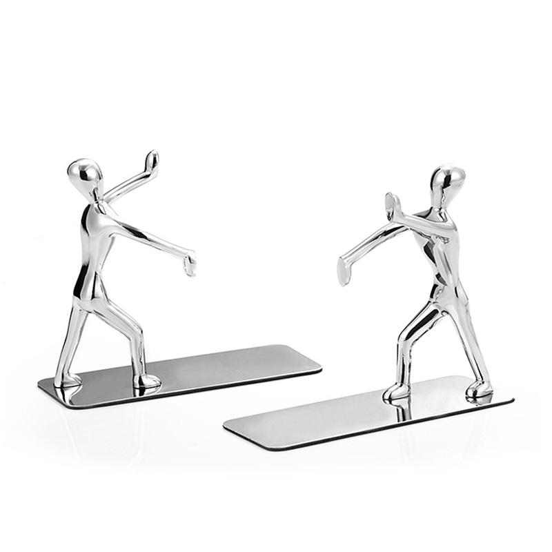 Body-shape Hand Book Stand Book Holder Bookends Book End Book Last Bookshelf Simple Creative Desk Decoration 2 Pieces