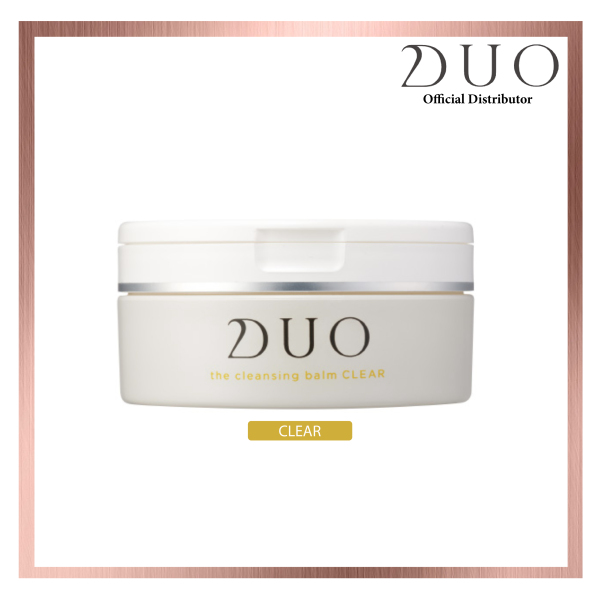 Buy DUO Cleansing Balm Clear (Yellow) Singapore