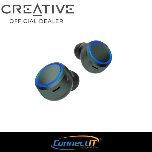 Creative Outlier Air V3 Wireless Bluetooth 5.2 Earbuds With Active Noise Reduction and Up to 40Hrs of Battery Life (1 Year Local Warranty) Singapore