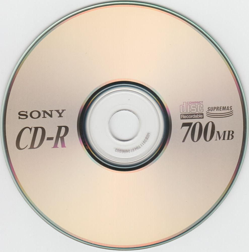 SONY CD-R 700Mb 48x