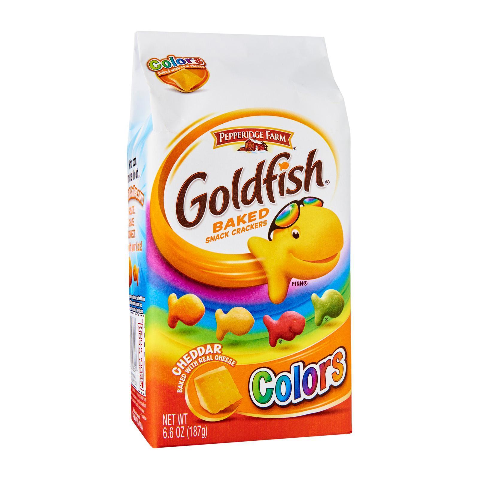 Pepperidge Farm Goldfish Colors Cheddar Baked Crackers