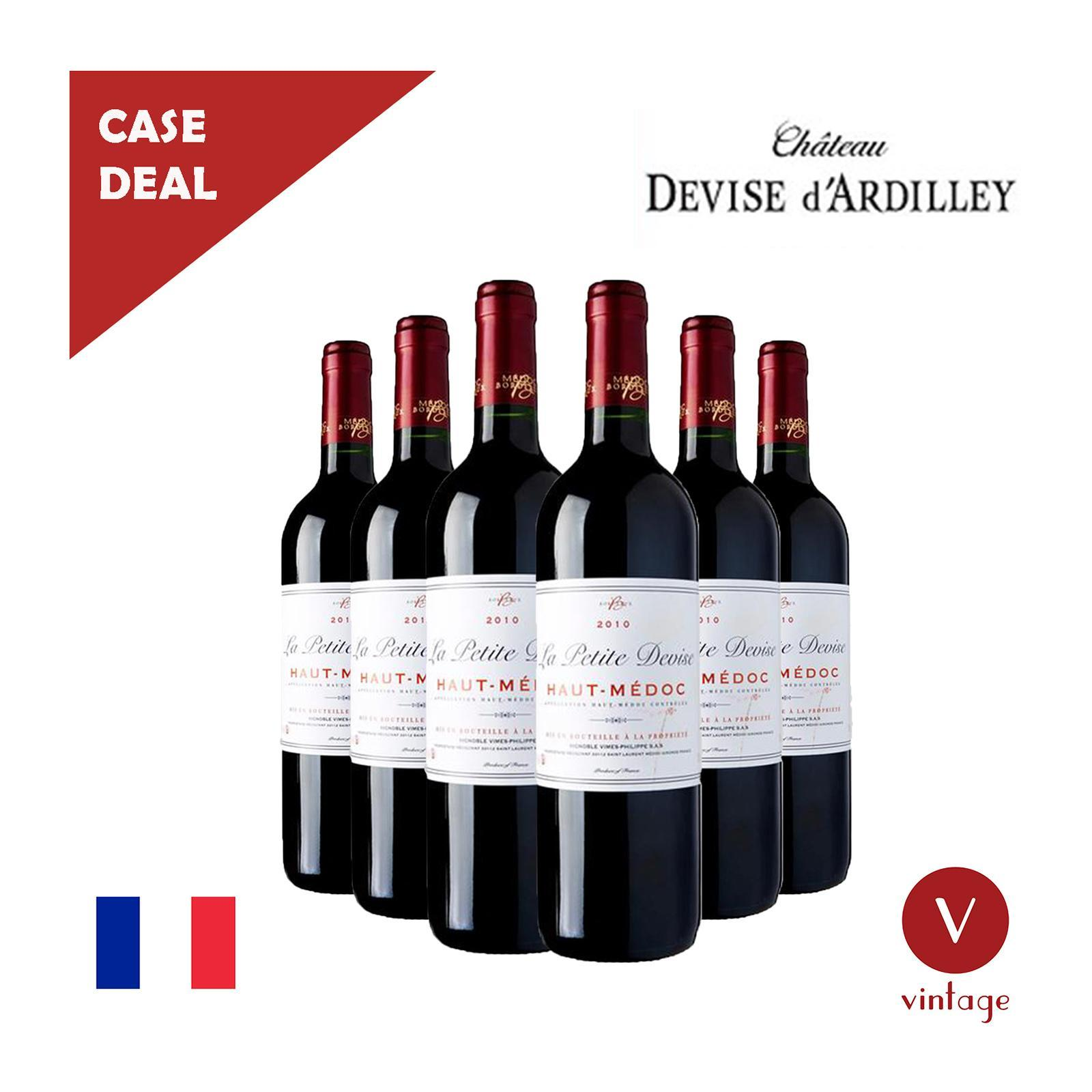 Chateau Devise d'Ardilley Petite Devise Bordeaux - Case - By The Vintage Wine Club