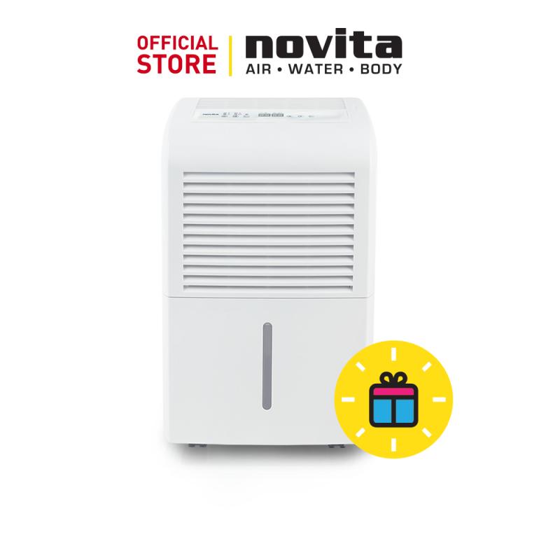 novita Dehumidifier ND690 with 3 Years Full Warranty + FOC GreenFan: F-2 & Surgical Respirator R5 (100pcs in a box) - Size (M) Singapore