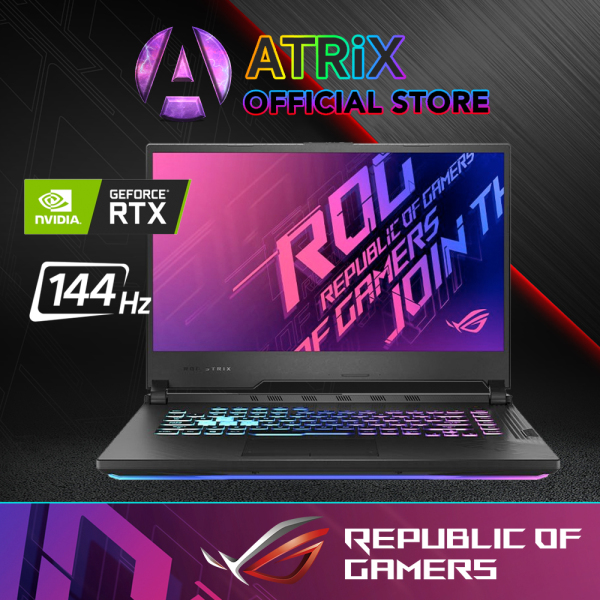 【Same Day Delivery】Same Day Delivery | New ROG G512 RTX2060 | ASUS ROG STRIX G512LV-RTX2060 | 15.6 FHD 144Hz | i7-10750H | 1TB PCIe SSD | NVIDIA GeForce RTX2060 6GB DDR6 | WiFi6 AX | 2Yrs Warranty