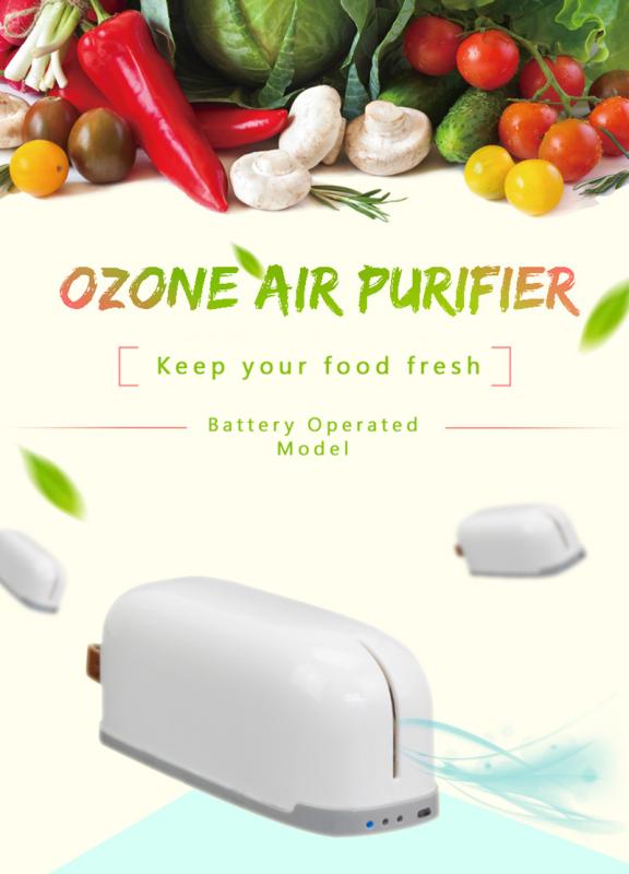 Xiaomi ENERFER Refrigerator Deodorizer Active Oxygen Air Purifier | Sterilization Odor Removal Fresh Singapore