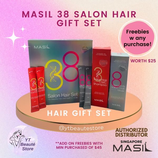 Buy [SG MASIL OFFICIAL] ♥ Masil 38 Salon Hair Gift Set  | Limited Edition!! Singapore