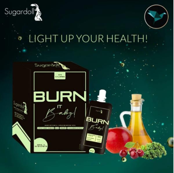 Buy [FREE GIFT] Sugardoll x Bodyrange Burn It Baby / BIB / Fat Burner / Weight Loss / Calories Deficit Singapore