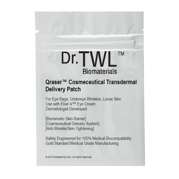 Buy Dr.TWL Dermaceuticals Qraser Cosmeceutical Transdermal Delivery Patch For Eye Bags Undereye Wrinkles Loose Skin Singapore