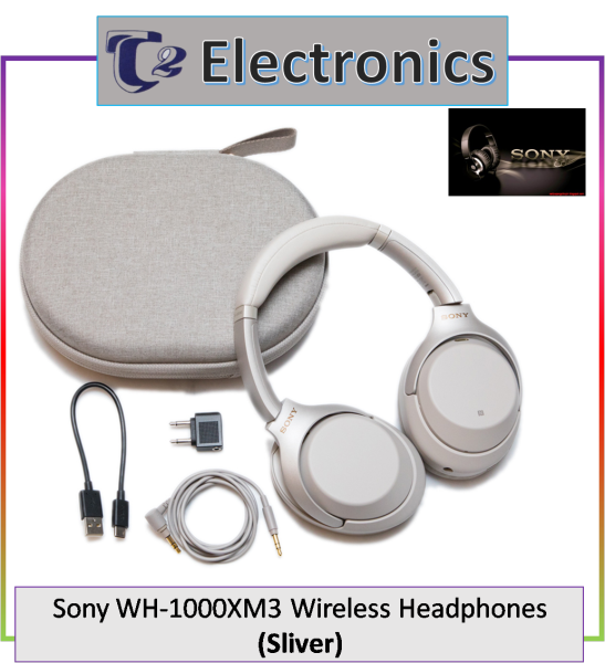 Sony WH-1000XM3 Wireless Headphones - T2 electronics Singapore