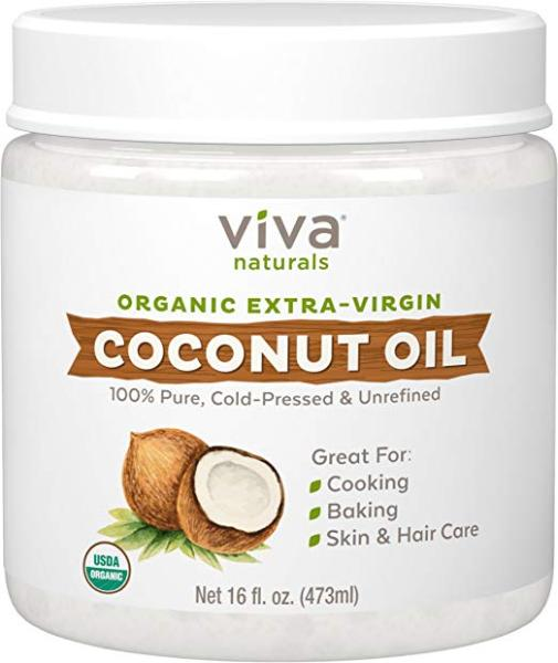 Buy Viva Naturals Organic Extra Virgin Coconut Oil, 16 oz Singapore