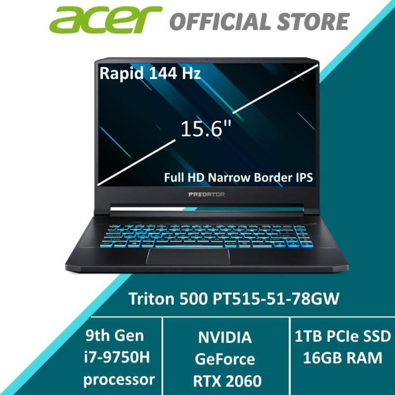 Predator Triton 500 PT515-51-78GW NEW Gaming Laptop with 9th Gen Intel i7 Processor