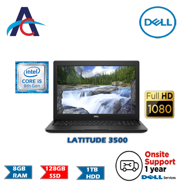 DELL LATITUDE 3500 LAPTOP (Intel Core i5 | 8th Generation)