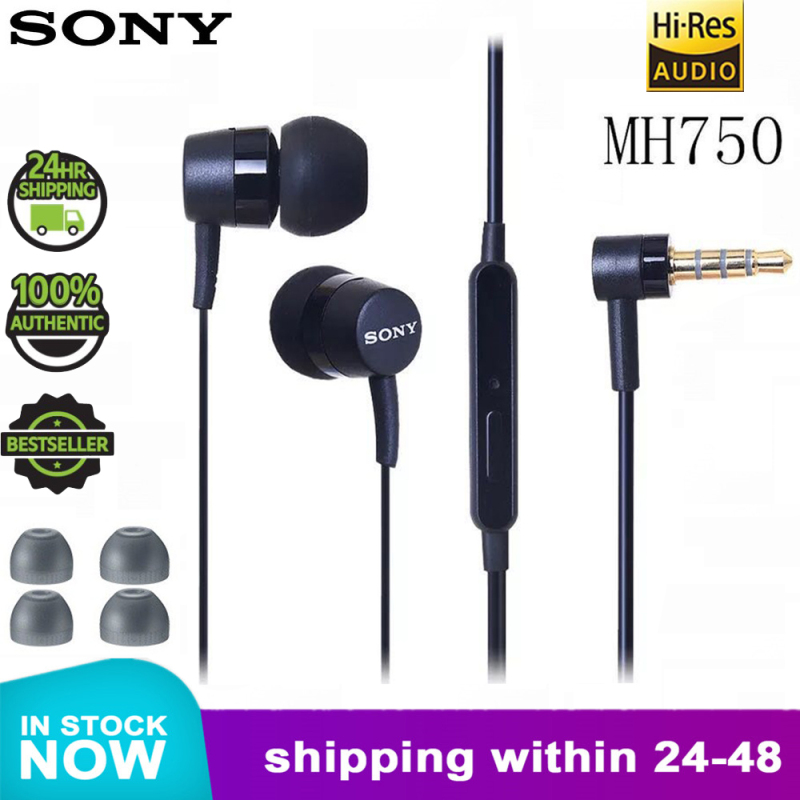 100% Original SONY MH750 in Ear earphone BASS Subwoofer xperia series earbuds for sony Z 1 2 3 xiaomi huawei samsung Singapore