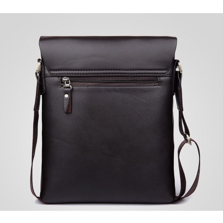 Coach Men Leather Messenger Bag