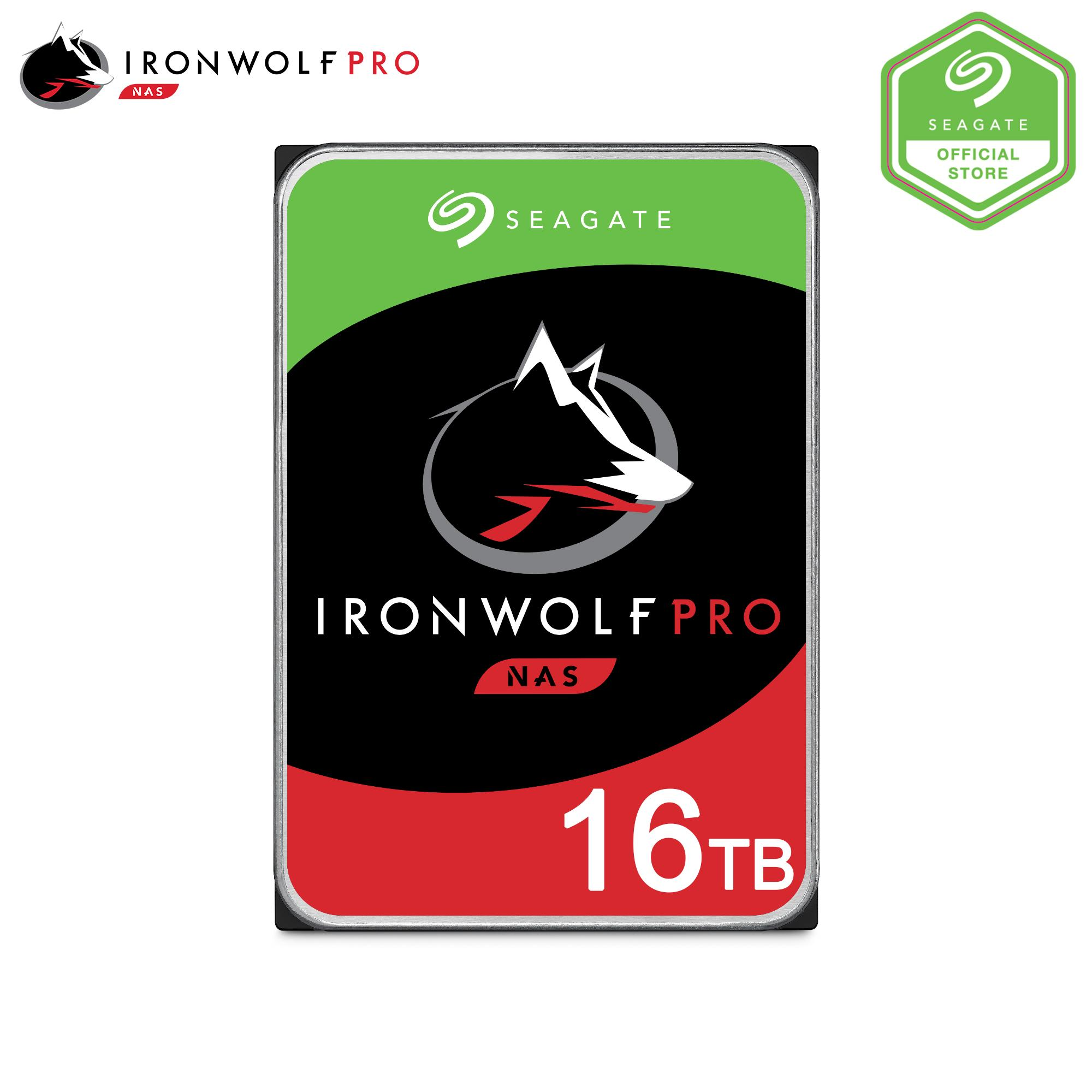 [seagate Official Store] Seagate Ironwolf Pro 3.5  16tb /14tb /12tb /10tb /8tb /6tb /4tb  Desktop Hard Disk.  Seagate Singapore Warranty: 5 Years..