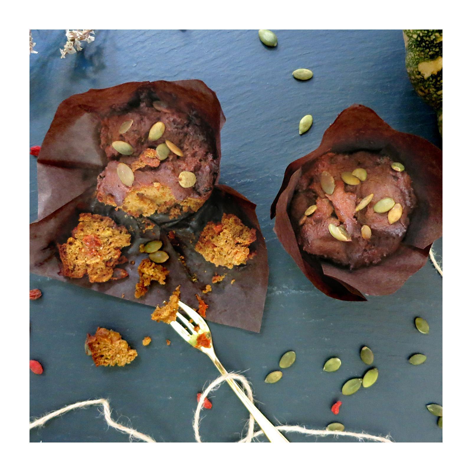 Bakening Flourless Pumpkin Muffins (vegan And Paleo) By Redmart.
