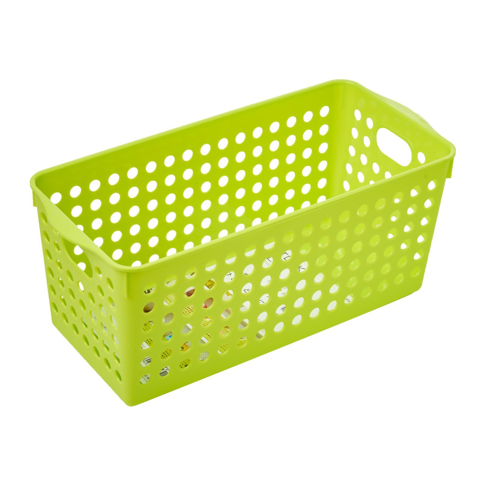 Inomata PP Storage Basket Slim/GRN