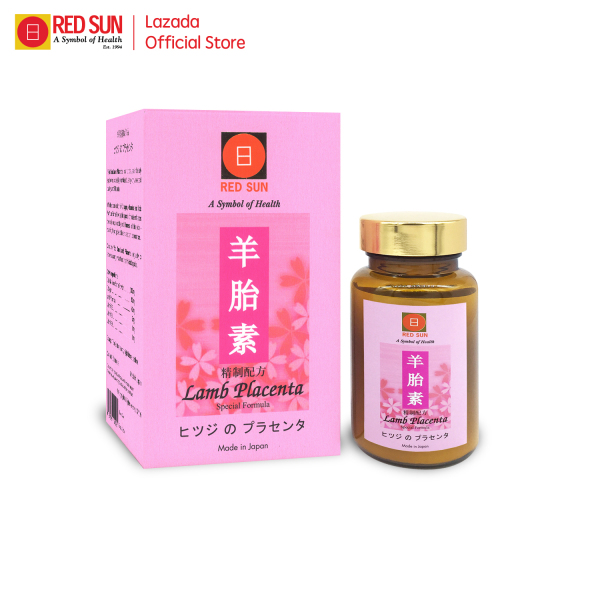Buy RED SUN Lamb Placenta   60 tablets   Collagen Skin Beauty Supplement   Made in Japan Singapore