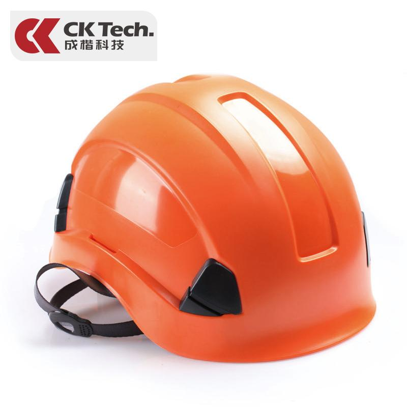 Ck Tech. Smashing Safety Helmet Construction Site Construction Architecture Engineering Breathable Rock Climbing Rescue Anti-Impact Printed Words Customizable By Taobao Collection.