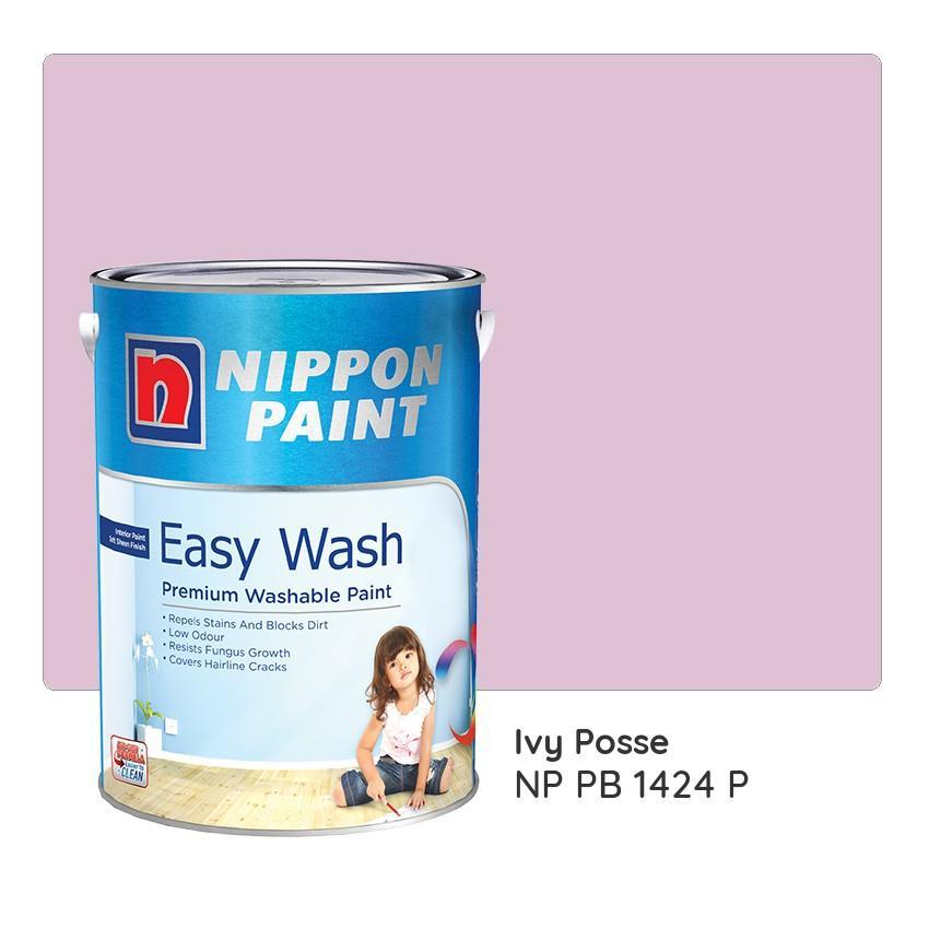 Nippon Paint Easy Wash NP PB 1424 P 1L
