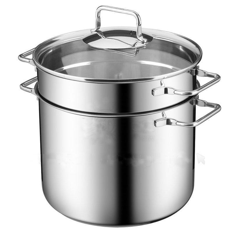 Germany WMF 24cm7L Stainless Steel. Pasta Pot Spaghetti Pot Noodles Dumplings Pot Stew Pot Stewing Pot Stew-pan Singapore