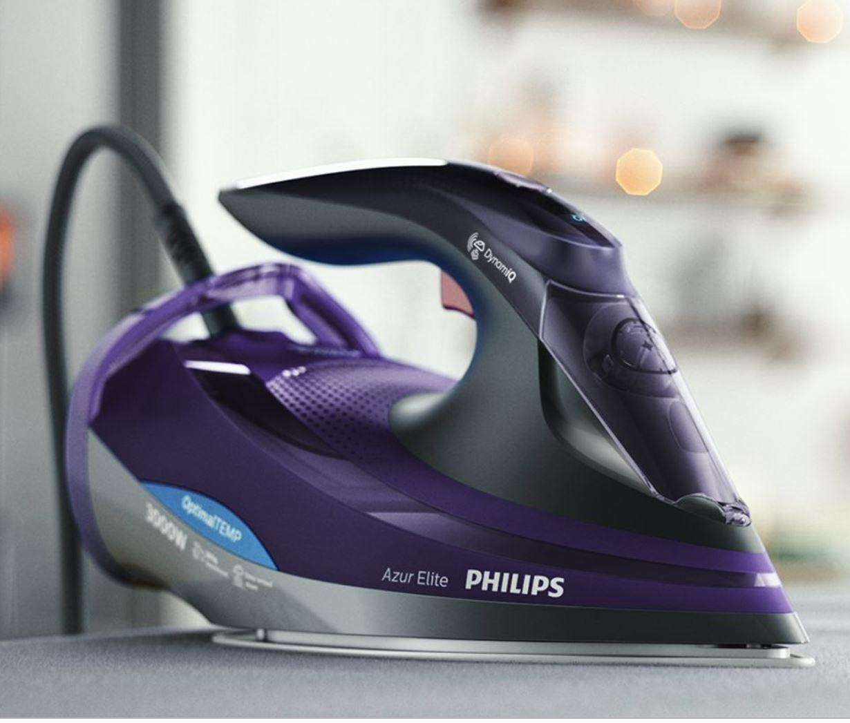 Philips Azur Elite Steam Iron With Optimaltemp Technology Gc5039/30 By Vipl Online.