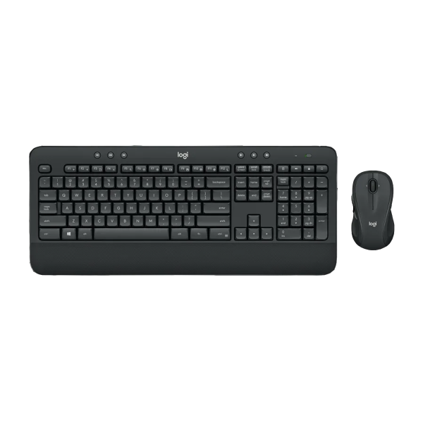 Logitech MK545 Advanced Wireless Keyboard and Mouse Combo with textured palm rest, media controls and adjustable tilt legs for the perfect typing position (Work From Home, Home Based Learning) Singapore
