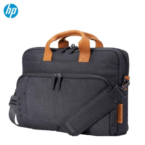 HP Envy Urban Water Resistant Anti-Theft RFID Stylish Leather Laptop Briefcase 15 Inch 3KJ73AA