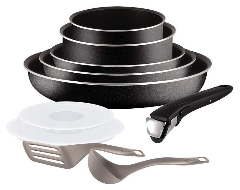 Tefal ingenio essential 10pc cookware set. Black Singapore