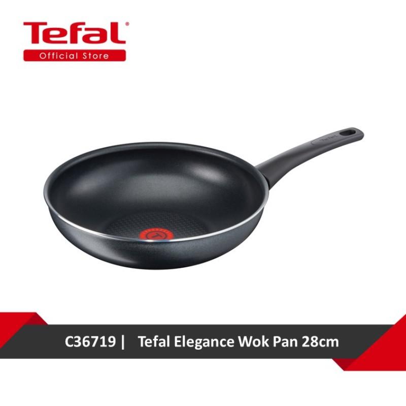 Tefal Elegance Wok Pan 28cm C36719 Singapore