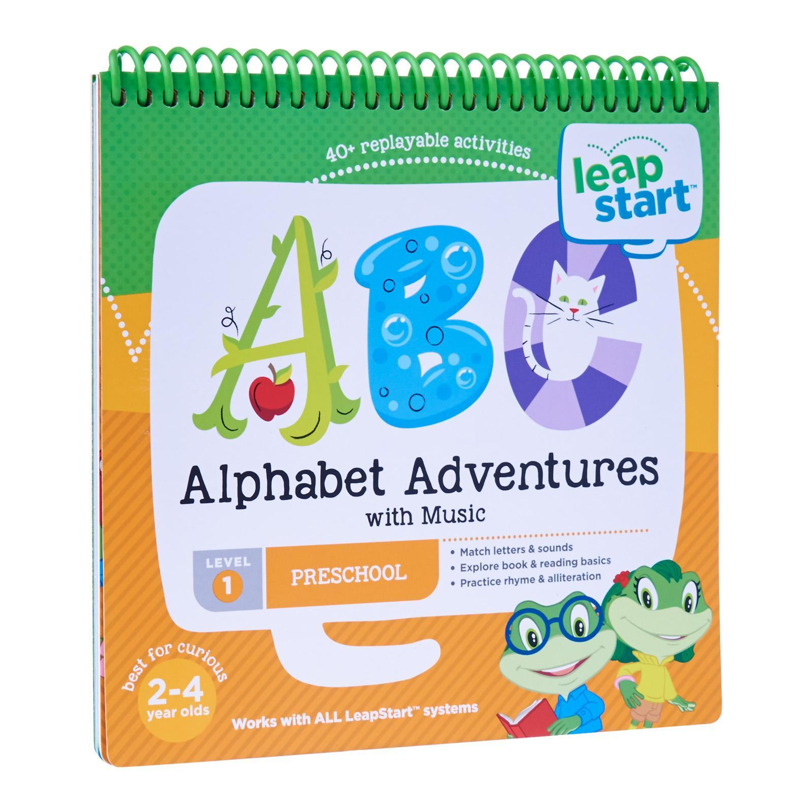 LeapFrog LeapStart Book - Alphabet Adventures With Music
