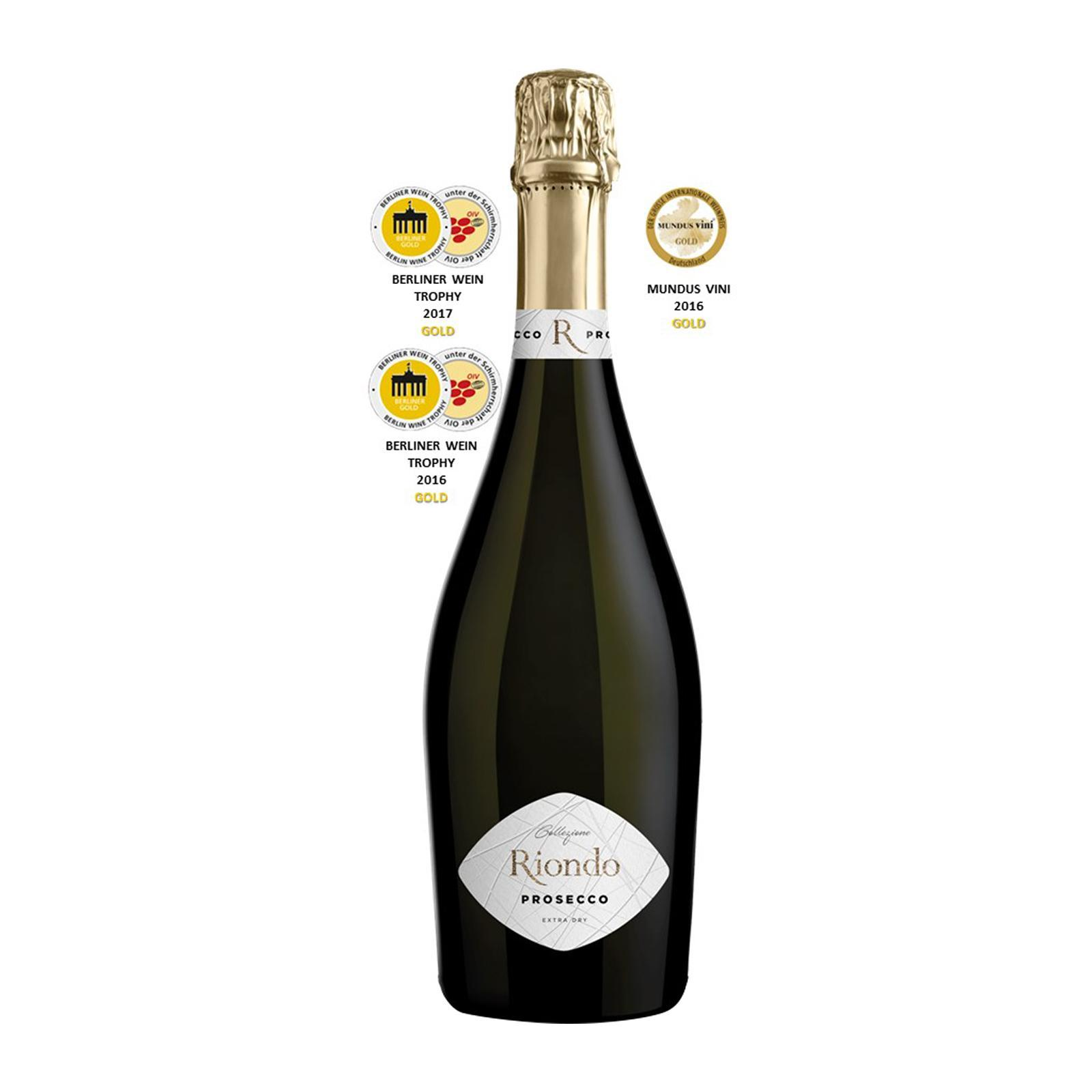 Riondo Collezione Extra Dry Prosecco Doc - By Wines4you