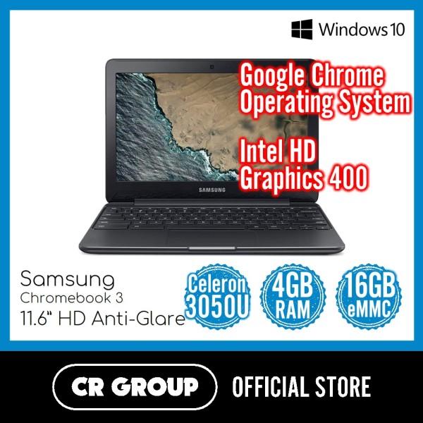 Samsung Chromebook 3 11.6 Inch HD | Intel Celeron N3060 | 4GB RAM | 16GB eMMC | Intel HD Graphics 400
