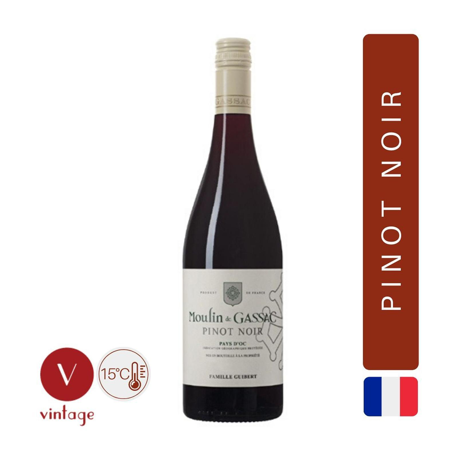 Moulin De Gassac - Pinot Noir - Red Wine - By The Vintage Wine Club