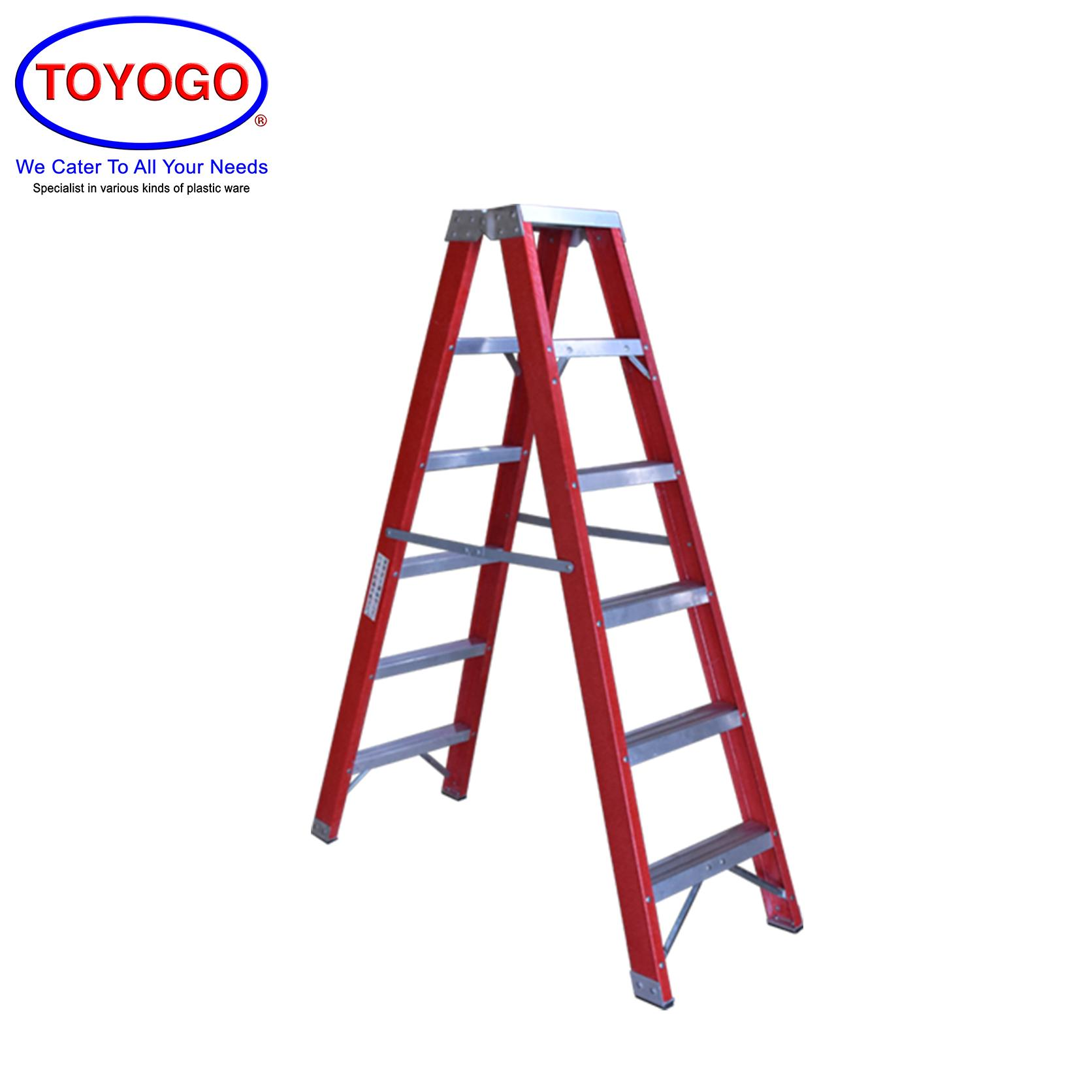 Toyogo Fiber 2 Side Ladder (6 Step) (HFH5526) W21