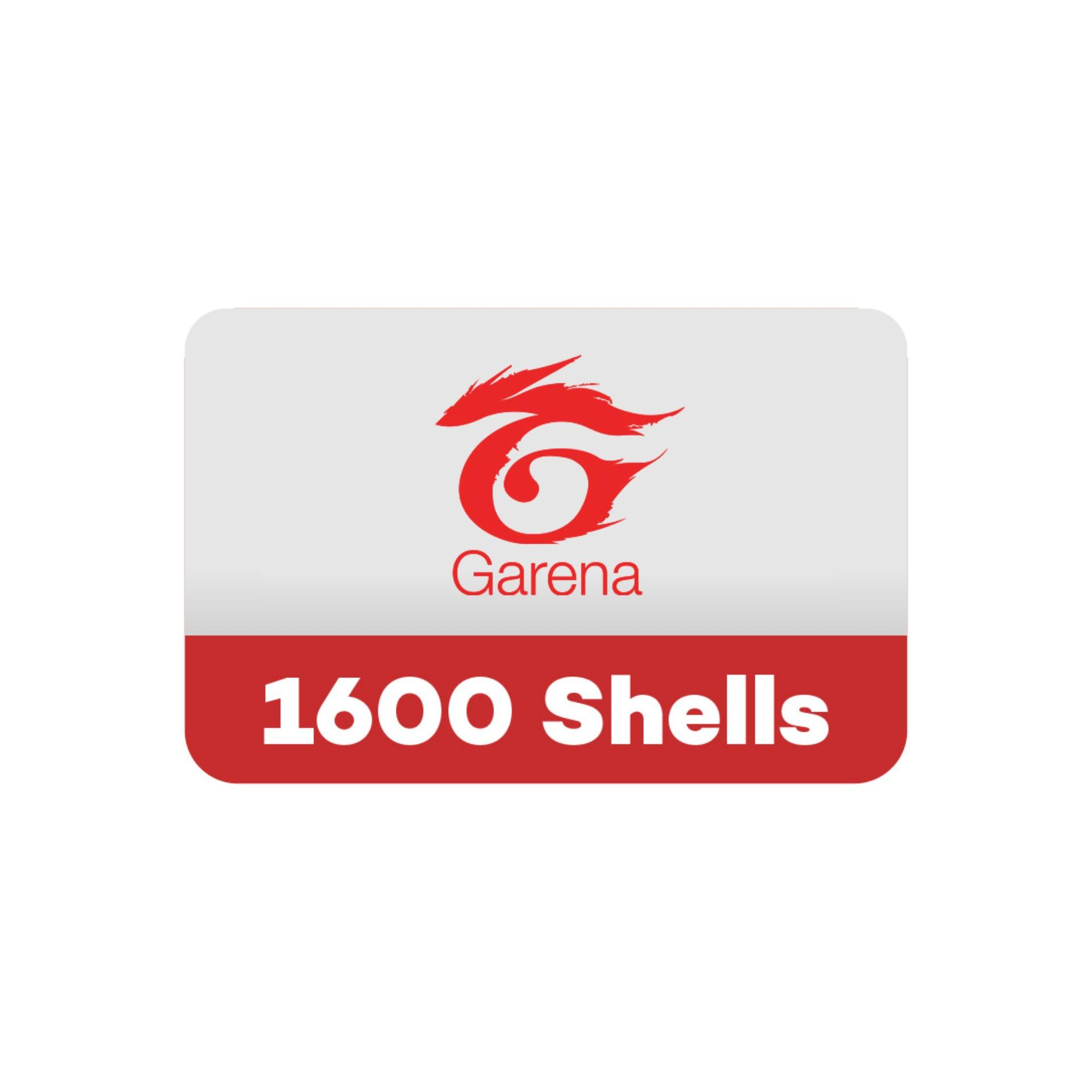 [GARENA] 1600 Shells/Games/Wallet/Credits/Gift  Cards/Codes/Online/Topup/PIN/Digital (Email Delivery)
