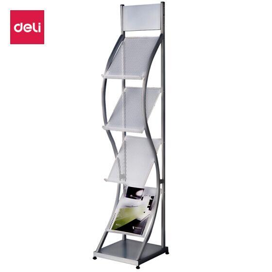 Deli Magazine Rack Newspaper Catalog Brochure Stand 9309