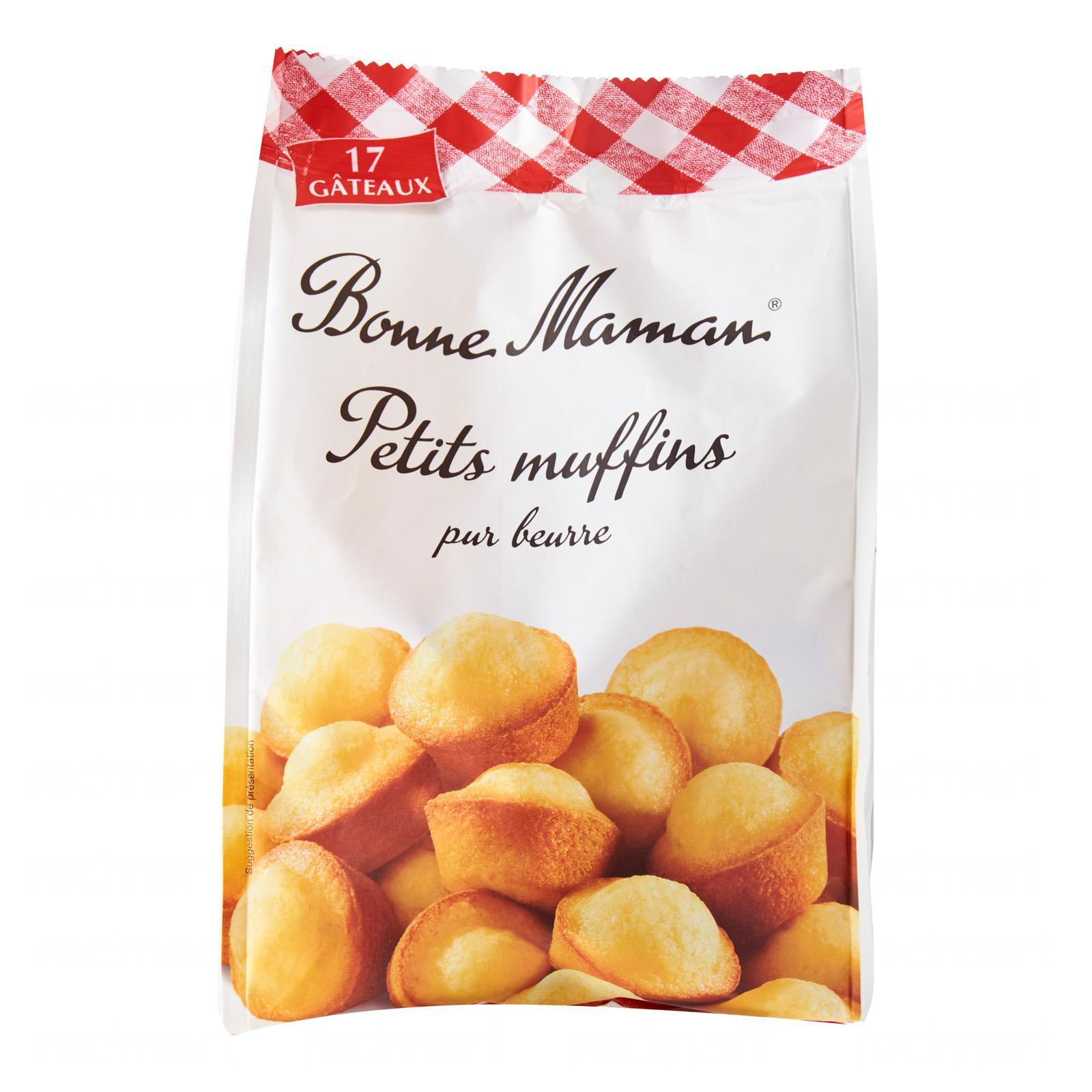 Bonne Maman Small Plain Muffins - By Le Petit Depot By Redmart.
