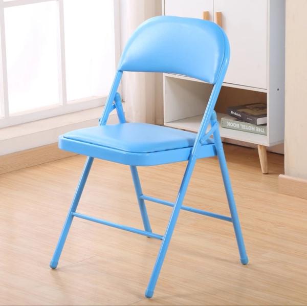 (Amura Living) Blue Folding Chair