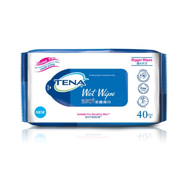 Buy TENA Wet Wipes 40s x 12 packs Singapore