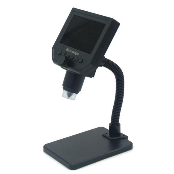 Kính hiển vi G600 cầm tay màn hình kỹ thuật số LCD 4.3 inch có độ sáng cao 8 bóng đèn Led sạc pin Li-ion có thể hoạt động trong suốt 6 giờ - INTL