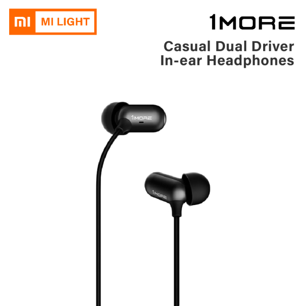 1More Capsule Dual Driver In-Ear Headphones (Hybrid Drivers Magnetic Absorption) Singapore